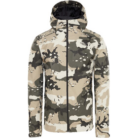 The North Face Millerton Jacket Men peyote beige woodchip camo print